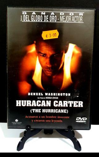 HURACÁN CARTER DVD