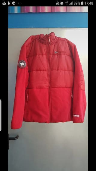 parka geographical Norway. hombre