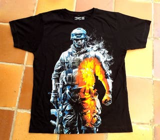 Camiseta oficial Battlefield 3 talla L