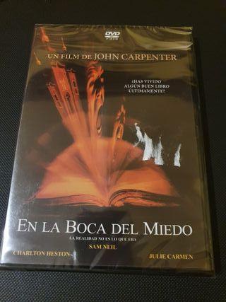 DVD - En la Boca del Miedo