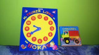 libro infantil para aprender las horas