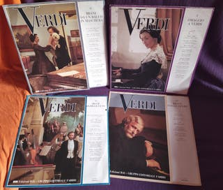 Verdi: discos y libretos
