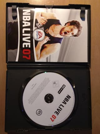 Videojuego NBA LIVE 07 NUEVO