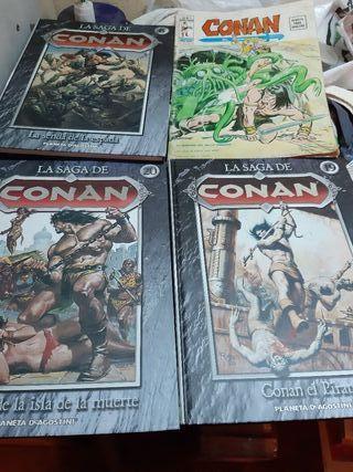 Lote cómics de CONAN