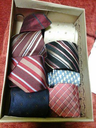 conjunto 8 corbatas