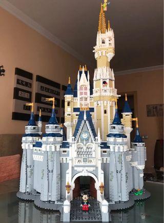 Castillo Disney compatible con Lego