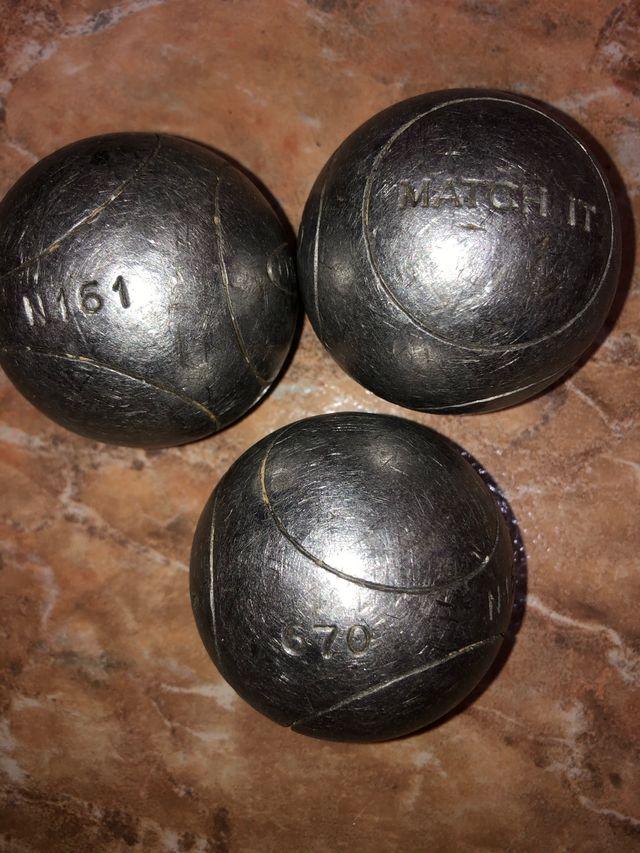 Bolas de petanca dureza+ Obut/Match+ 73/mm