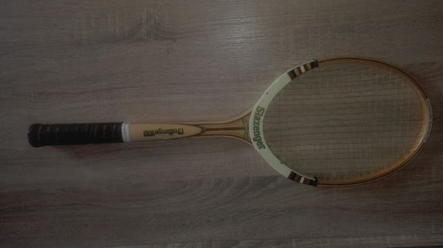 raqueta vintage slazenguer