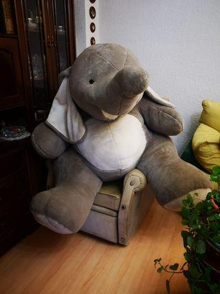 peluche elefante gigante