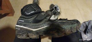 botines bici MTB goretex talla 43