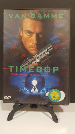 TIMECOP JEAN CLAUDE VAN DAMME DVD USADO