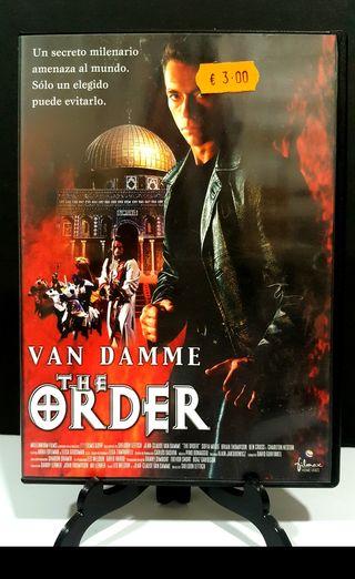 The Order van damme dvd