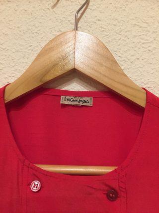 Camisa mujer roja