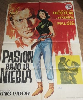 Cartel original de cine