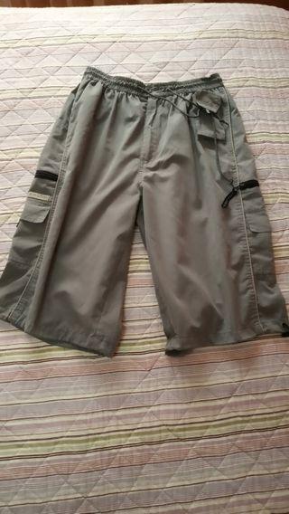 Pantalóns pirata de home