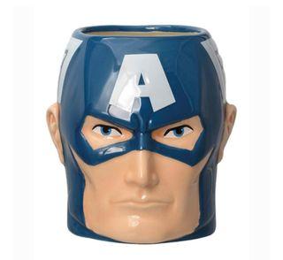 Taza 3D Capitán América Los Vengadores