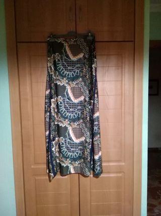 falda larga talla 40