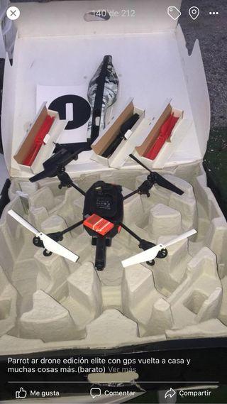 Dron parrot con gps