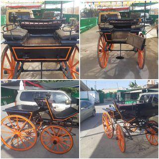 Coche de caballos, Faeton convertible de madera