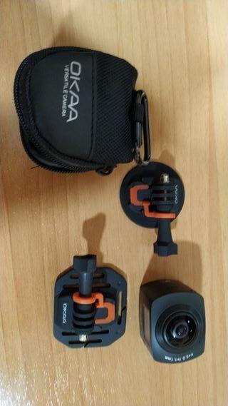 Camara deportiva panoramica 360 grados
