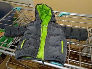 chaqueta de invierno para bebés 3 a 6 meses