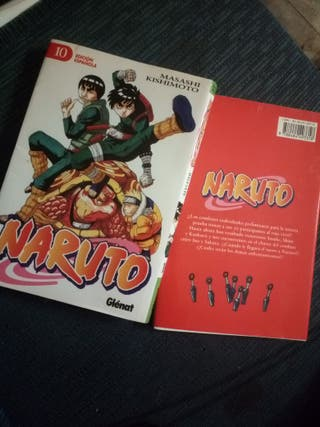 COMICS DE NARUTO TOMO 9 Y 10