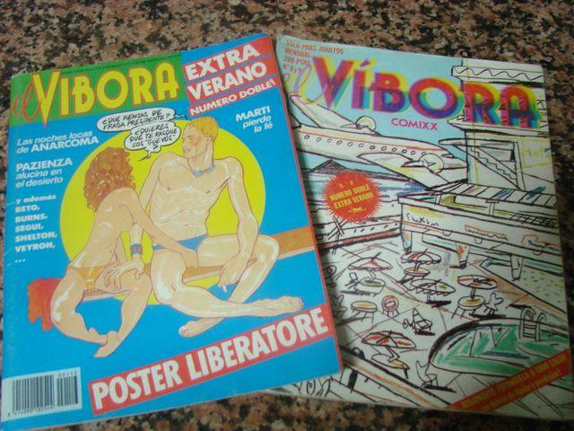 EL VÍBORA - 17 Ejemplares COMIC ADULTOS COLECCION