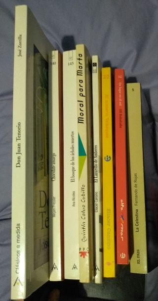 Libros de lectura Castellano ESO