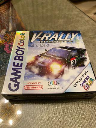 Juego V-rally championship game boy color