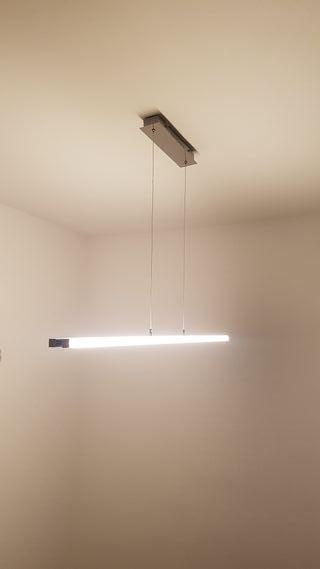 Lámapara luz LED para salón/comedor.