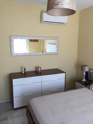 Dormitorio matrimonio moderno completo nuevo