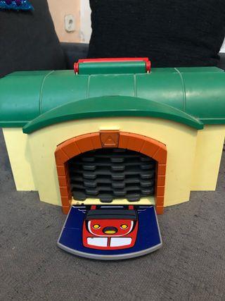 Estación de tren playmobil 123