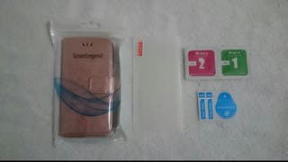 Pack 2 Fundas iPhone 7 + Protectores cristal