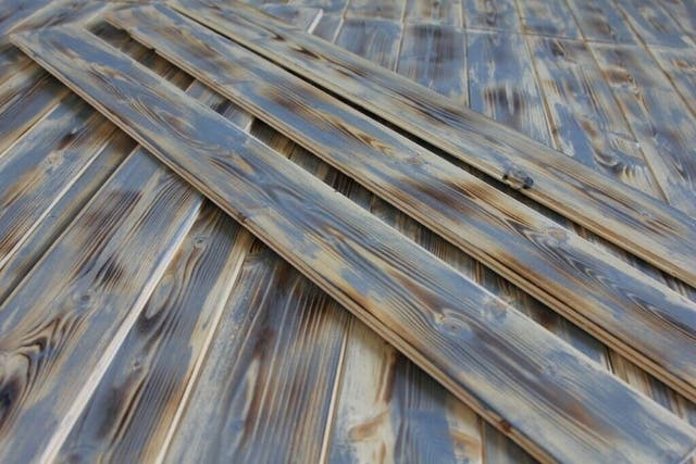 Pallet cladding wood wall timber planks