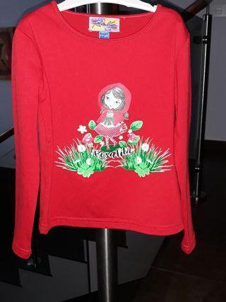 Camiseta niña Rosalita Señoritas