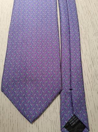 corbata de seda