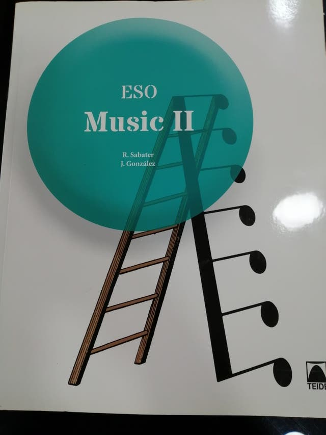 Libro Music II para segundo de la ESO en ingles.