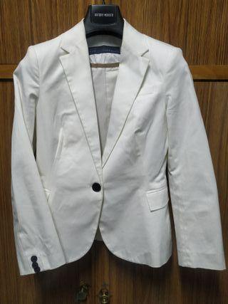Zara americana blanca mujer