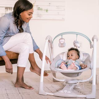 Mecedora columpio automática para bebés- Abernathy