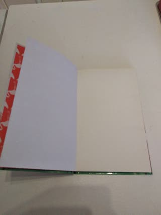 Cuaderno para escribir.