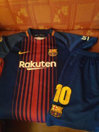 conjunto equipaciones Barcelona