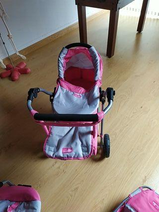 carrito bebé juguete
