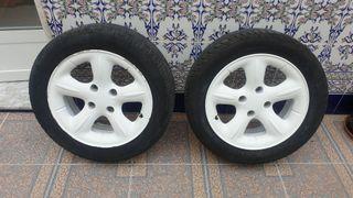 """Llantas con gomas Citroen Xsara Vesuve 15"""""""