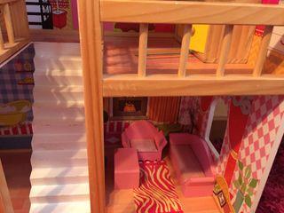 Casa de muñecas madera