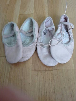Zapatillas ballet. 28 y 29