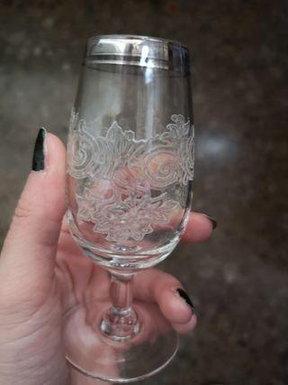Copas de vino de Jerez