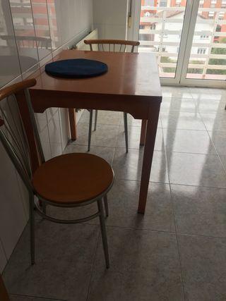 Mesa madera ideal para cocina