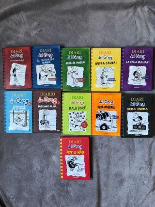 Libros Diari del Greg