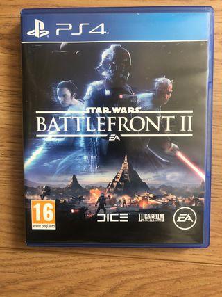 Juego PS4 Star Wars Battlefront II