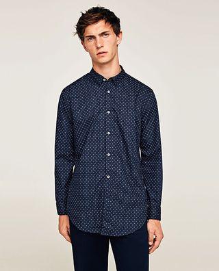 Zara camisa SlimFit hombre